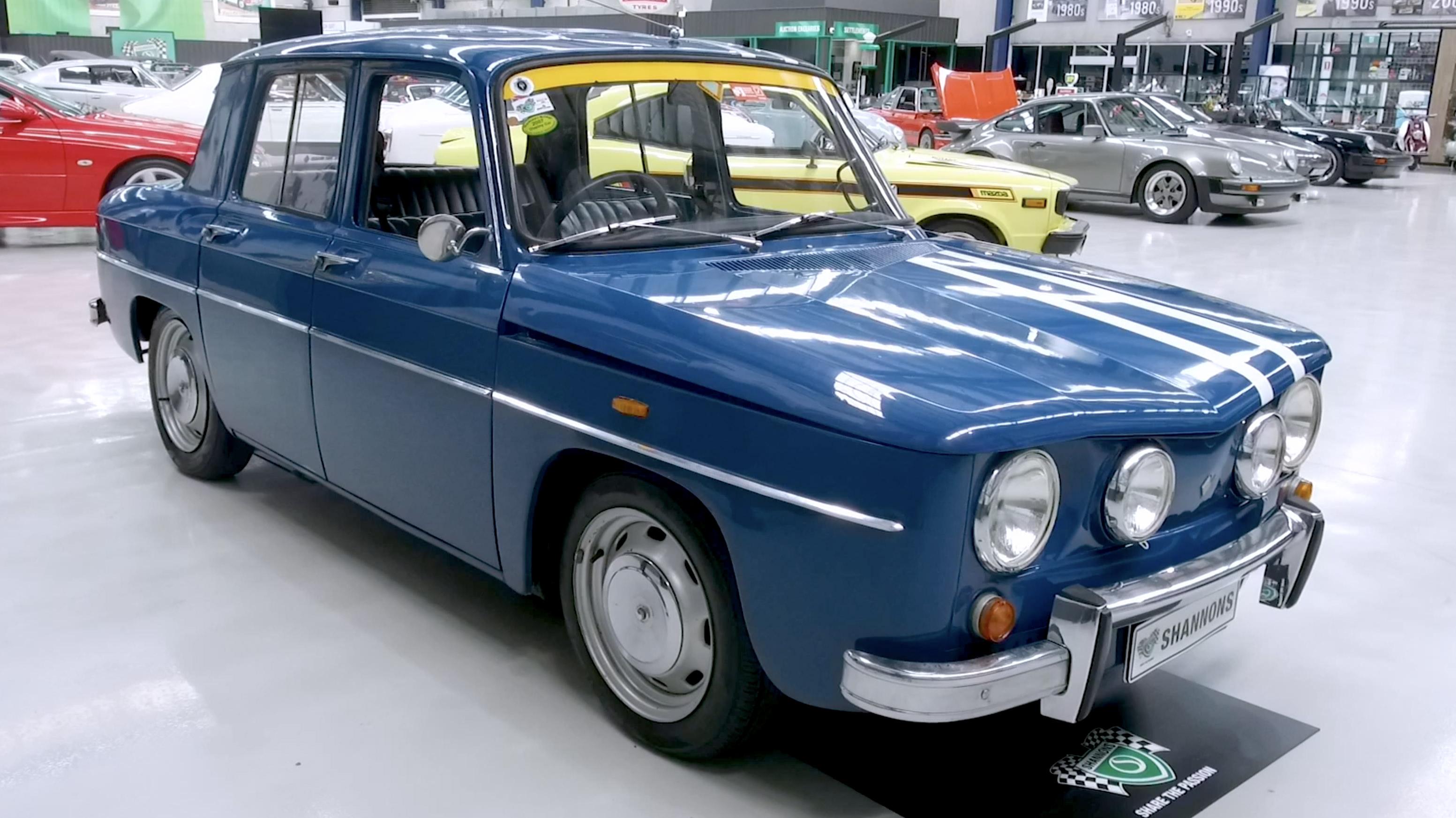 1967 Renault R8 Gordini Sedan - 2020 Shannons Spring Timed Online Auction