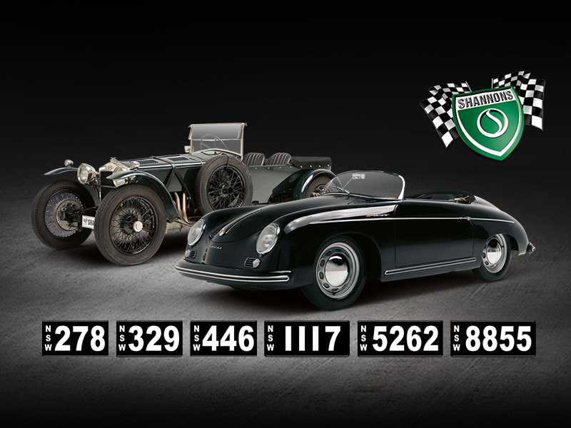 2020 Shannons Sydney Summer Classic Auction & Rare Number Plates
