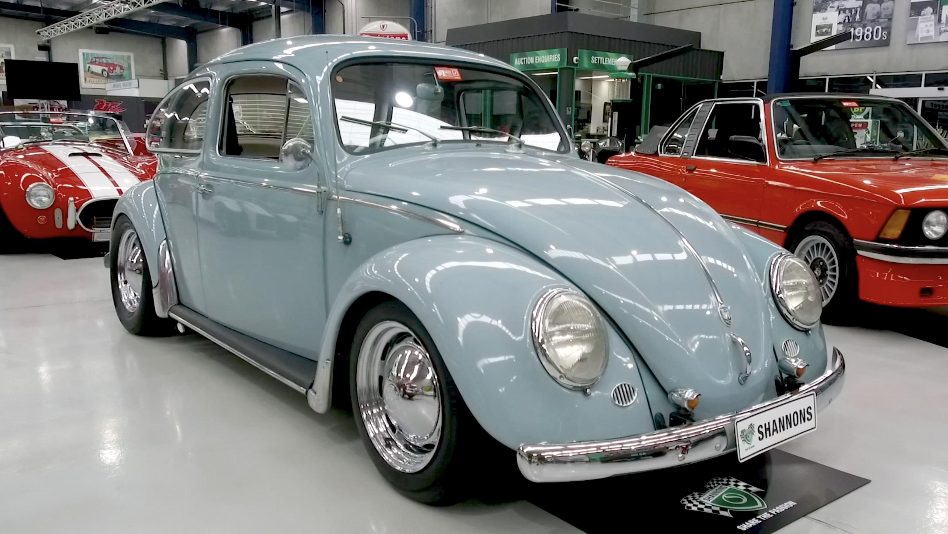 1958 Volkswagen Beetle 1600 'Enhanced' Sedan - 2020 Shannons Spring Timed Online Auction