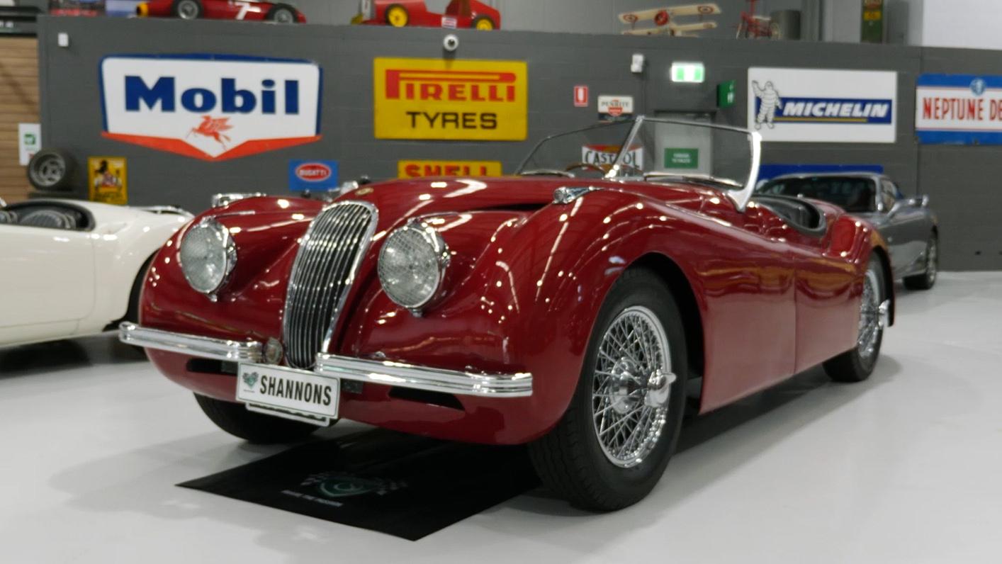 1950 Jaguar XK120 Roadster - 2021 Shannons Autumn Timed Online Auction