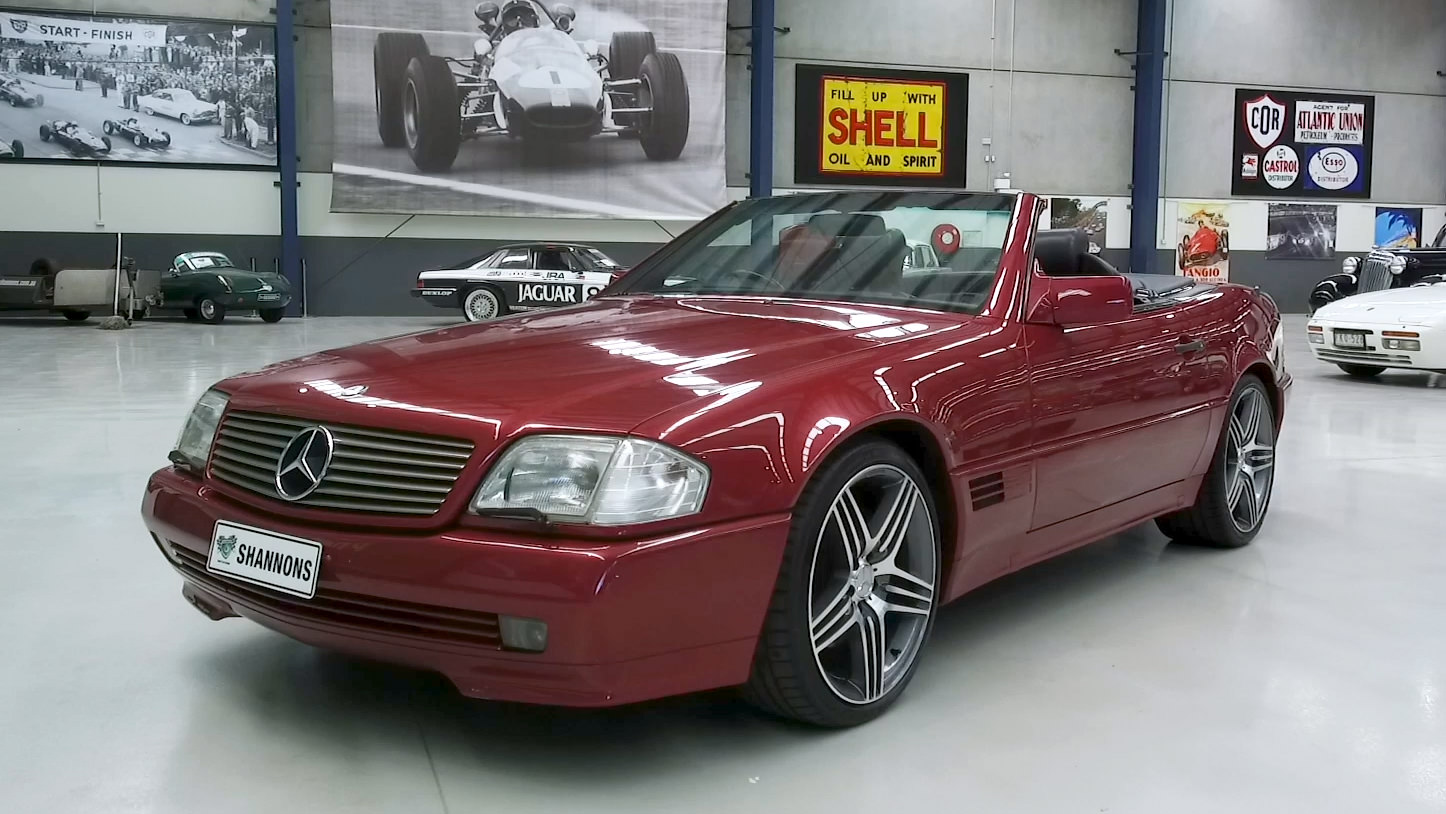 1993 Mercedes-Benz SL600 V12 Convertible - 2021 Shannons Summer Timed Online Auction