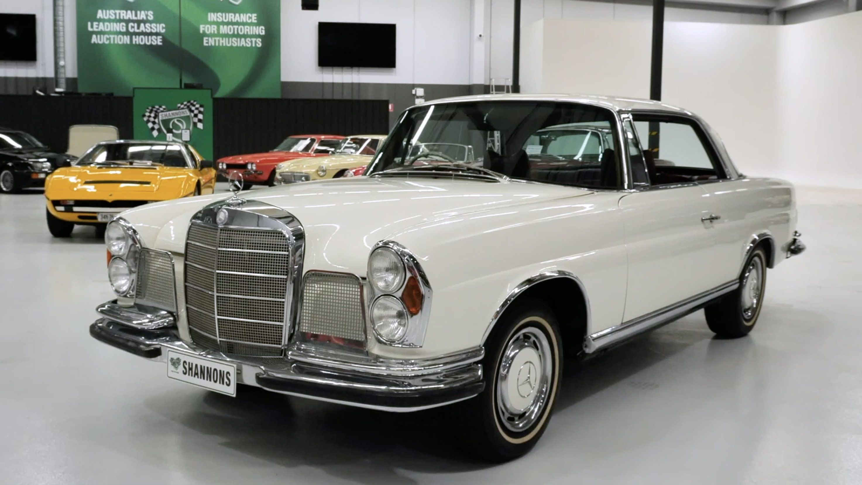 1969 Mercedes-Benz 280SE Coupe - 2021 Shannons Summer Timed Online Auction
