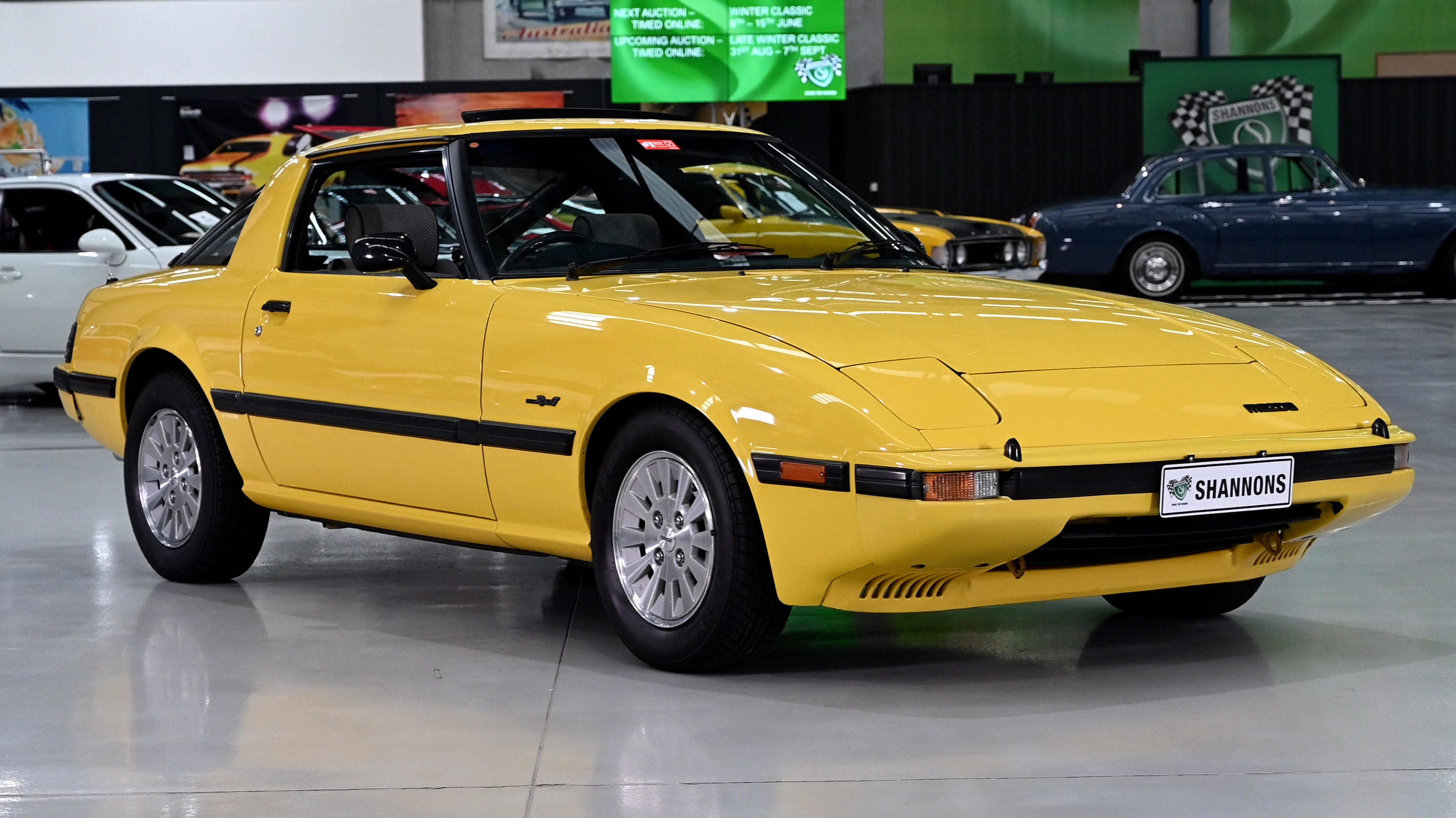 1983 Mazda RX7 Series 3 Coupe - 2021 Shannons Winter Timed Online Auction
