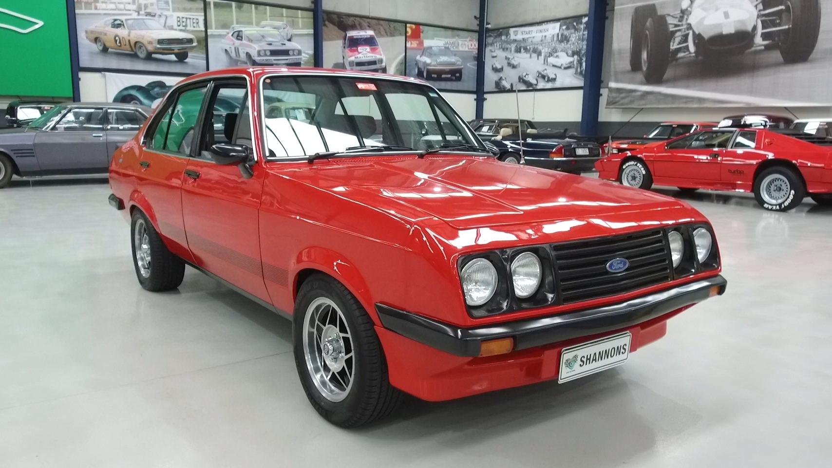 1980 Ford Escort RS2000 Sedan - 2021 Shannons Winter Timed Online Auction