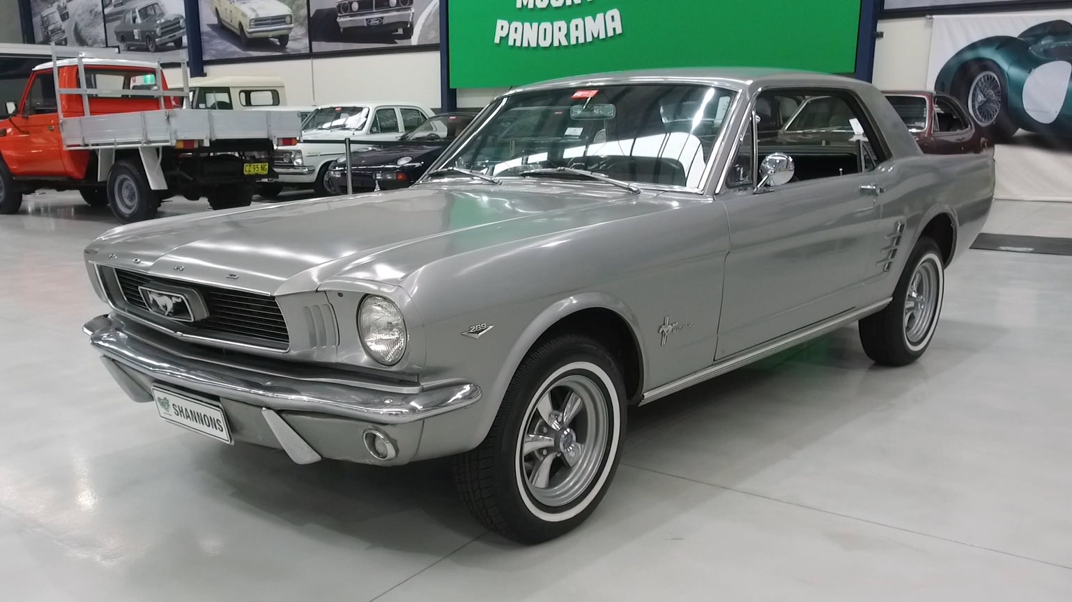 1966 Ford Mustang 289 V8 Coupe (RHD) - 2021 Shannons Winter Timed Online Auction