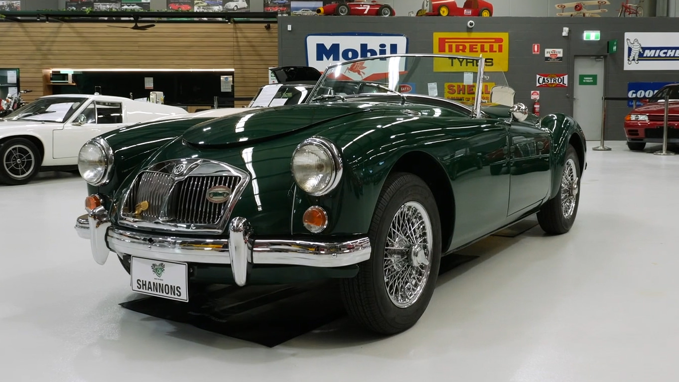 1960 MGA 1600 Mark 1 Roadster - 2021 Shannons Winter Timed Online Auction