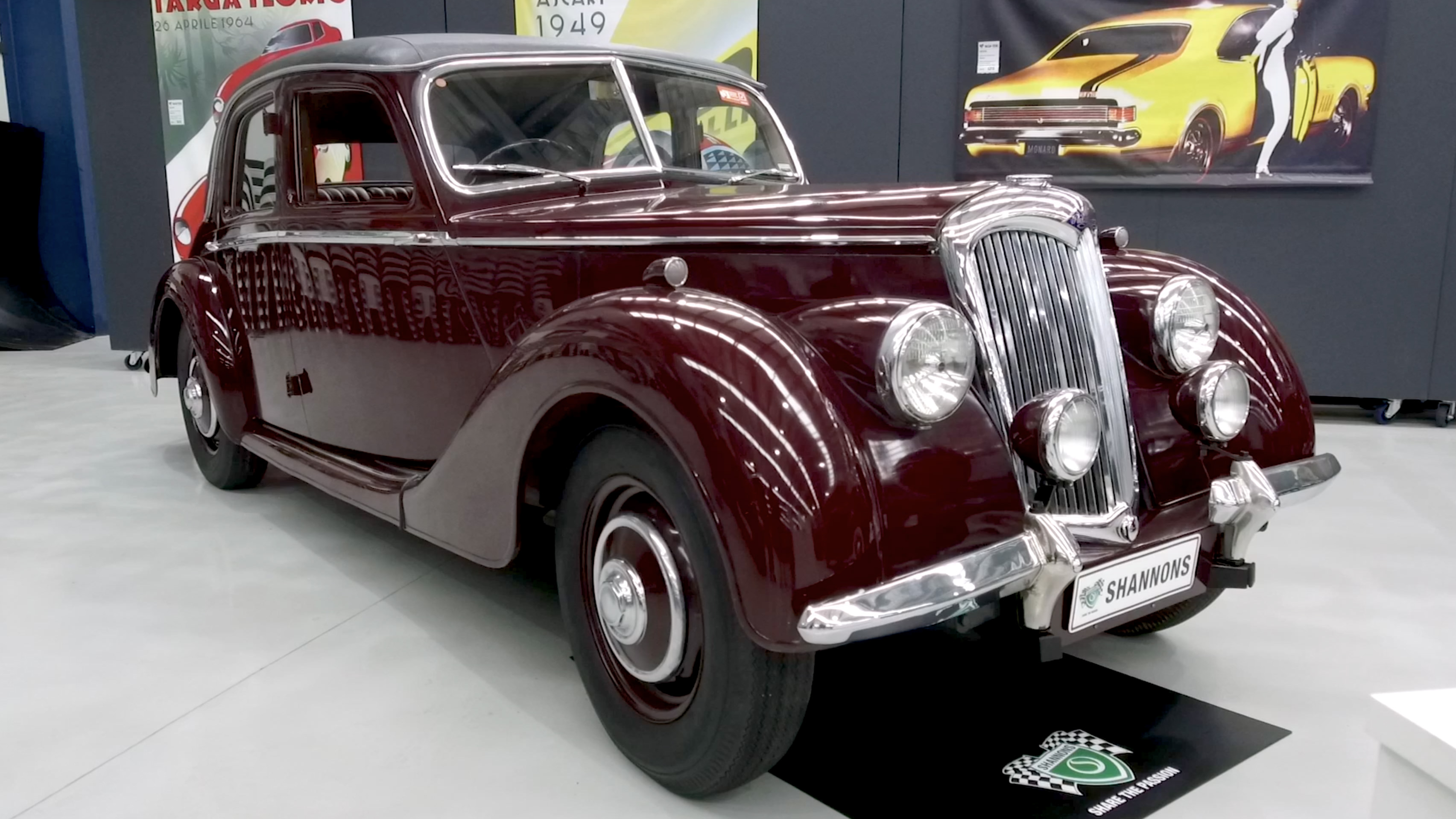 1950 Riley RMA 1.5Lt Saloon - 2020 Shannons Spring Timed Online Auction