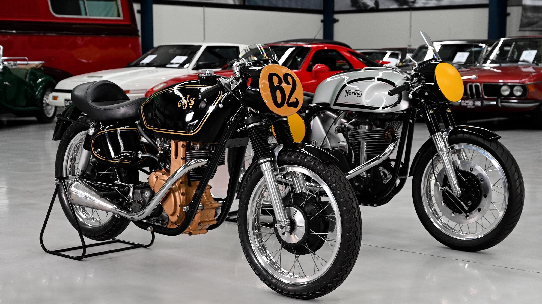 1949 AJS 350CC 7R & 1954 Norton Manx 500cc Solo Motorcycles - 2021 Shannons Autumn Online Auction