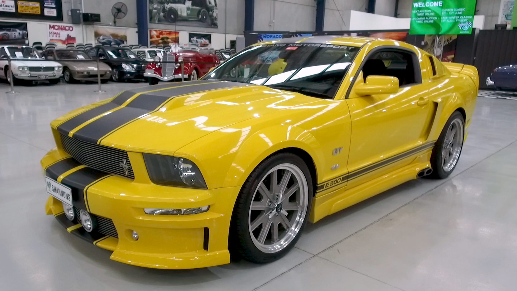 2005 Ford Mustang GT 'E500' Coupe (RHD) - 2021 Shannons Winter Timed Online Auction