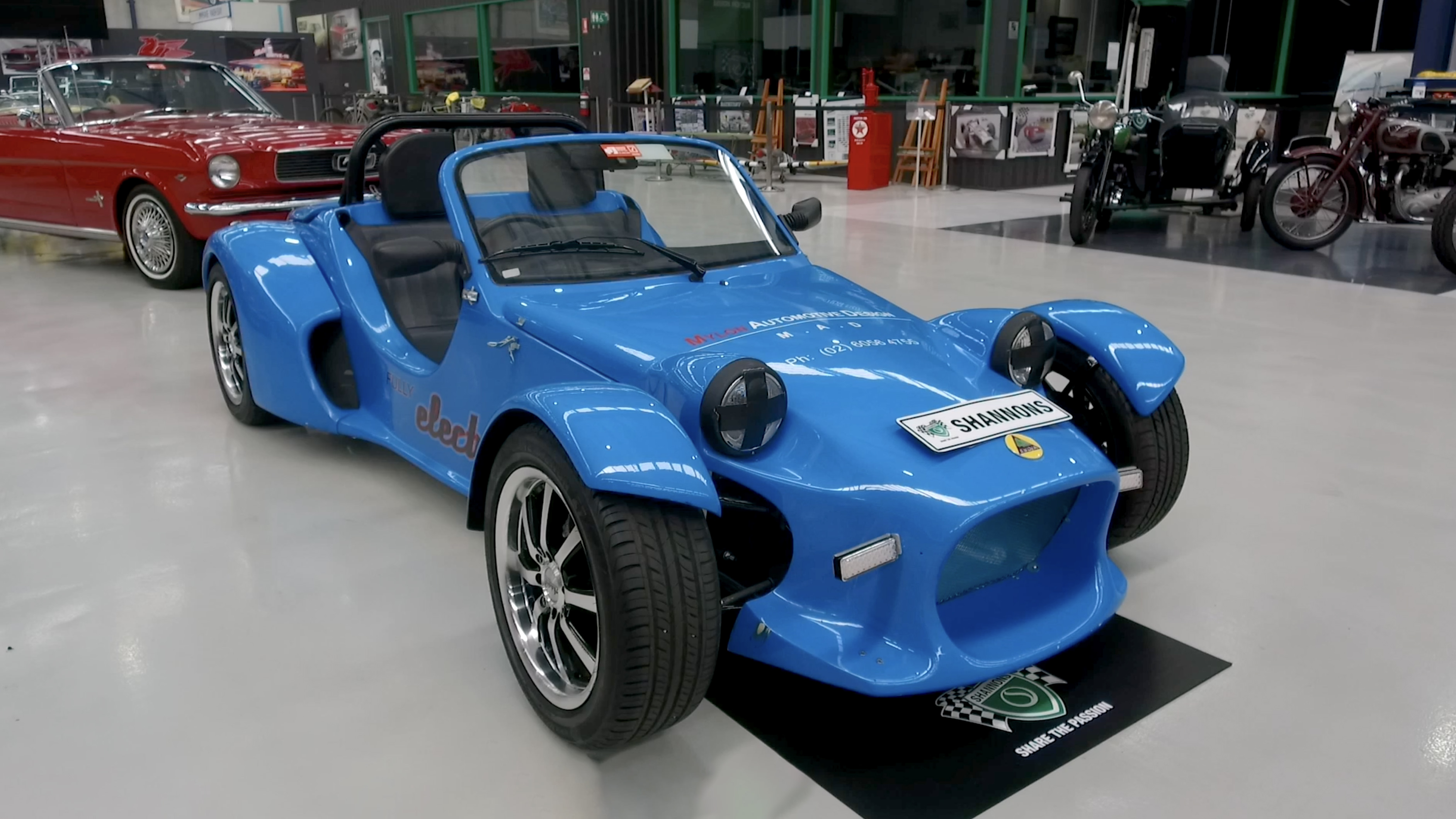 2011 Sylva Mojo Electric Roadster - 2020 Shannons Spring Timed Online Auction