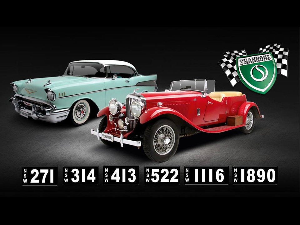 2019 Shannons Sydney Autumn Classic Auction & Rare Number Plates