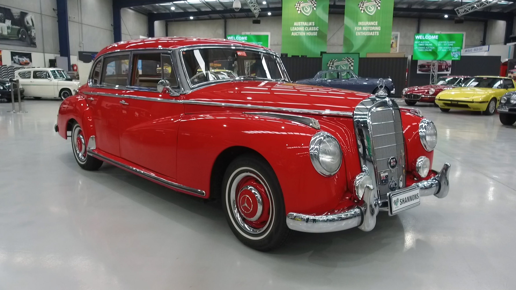 1954 Mercedes-Benz 300B Saloon - 2021 Shannons Winter Timed Online Auction