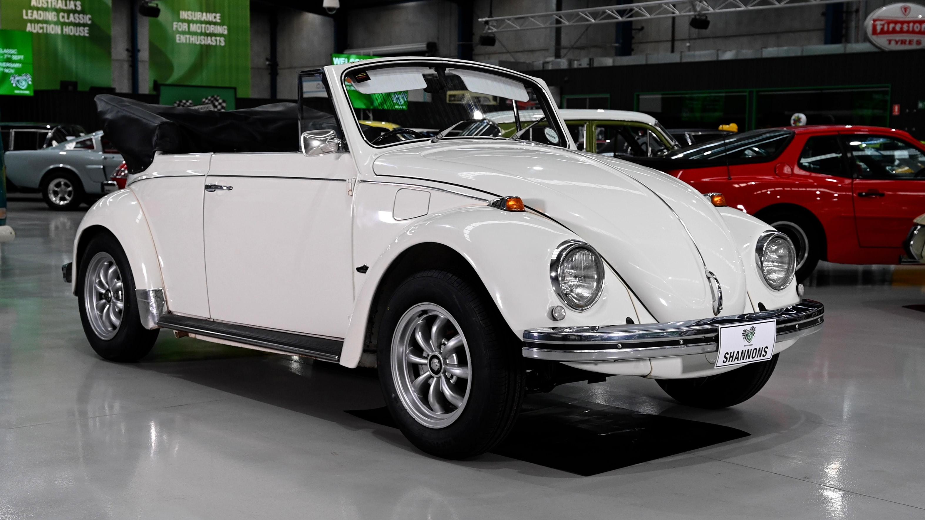 1970 Volkswagen Beetle 'Karmann' Cabriolet (RHD) - 2021 Shannons Spring Timed Online Auction