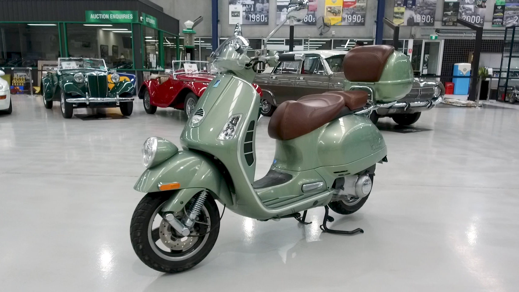 2009 Vespa Piaggio 250 GTV ie Motorcycle - 2021 Shannons Winter Timed Online Auction