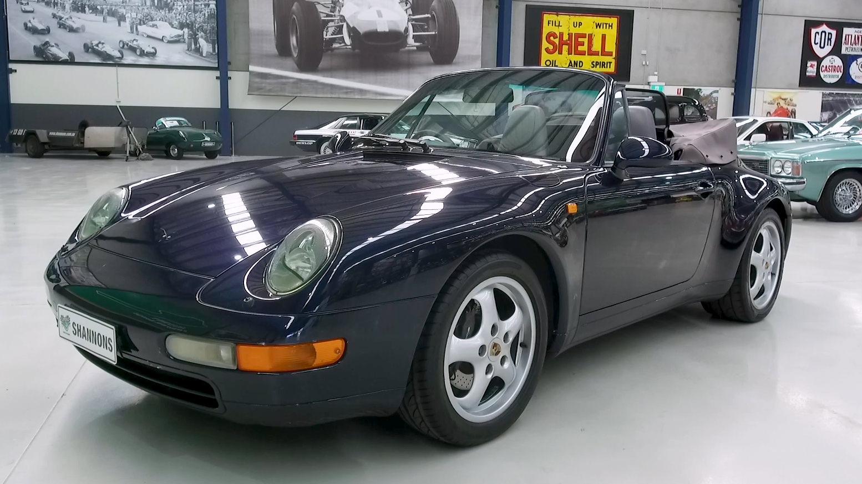 1994 Porsche 911 (993) Carrera Convertible - 2021 Shannons Summer Timed Online Auction