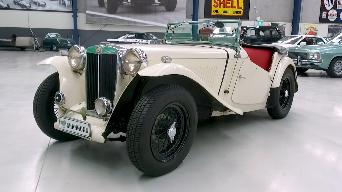 1949 MG TC Roadster - 2021 Shannons Summer Timed Online Auction