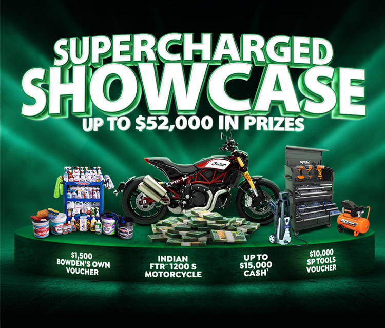Terms Shannons Supercharged Showcase Competition